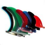 quillas de tablas de surf