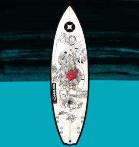 tabla de surf mamba