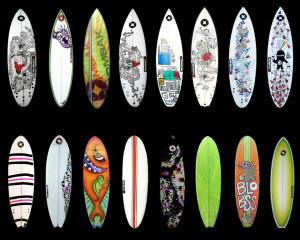 Diseños para tablas de surf