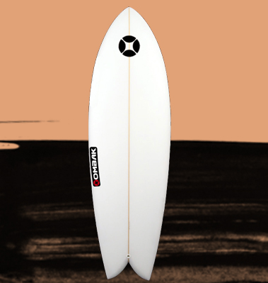 tabla de surf retro fish