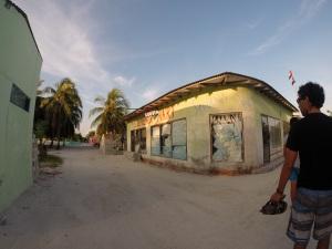 Las calles de Himmafushi
