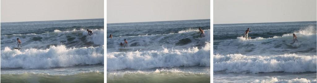 En caso de saltar una ola sin querer, siempre estás a tiempo de salirte para dejar al surfer con prioridad. Y una disculpa no está de más.