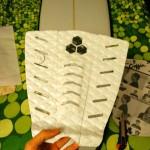Recortar el envoltorio del grip para mantener las piezas unidas